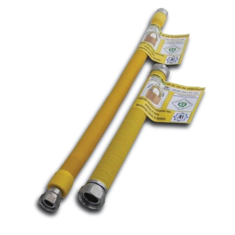 Racord gaz izolat¾/¾ 300 - 600mm MF