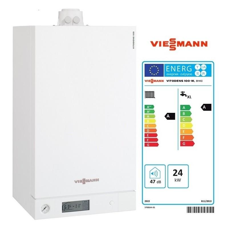 Centrala termica Viessmann Vitodens 100 - 26 kw ACM instant