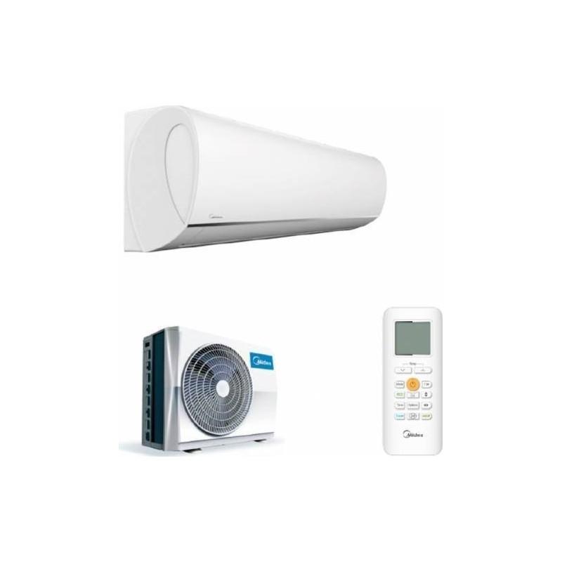 Aparat aer conditionat Midea Blanc, Inverter, 1:1 split de perete, MSMAAU-09HRFN1-QRD0GW 9000 BTU