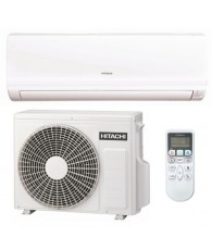 Aparat aer conditionat Hitachi Eco Confort, Inverter, 1:1 slit de perete, RAK-25PEC RAC-25WEC 9000 BTU