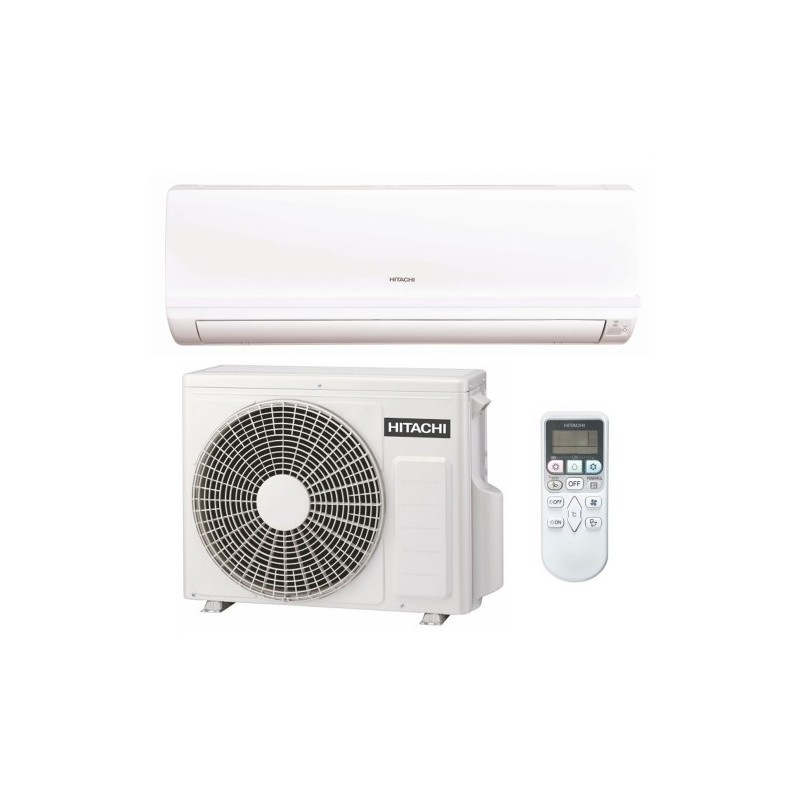Aparat aer conditionat Hitachi Eco Confort, Inverter, 1:1 split de perete, RAK-35PEC RAC-35WEC 12000 BTU
