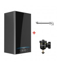 Centrala Ariston Alteas One Net 24, kit de evacuare si filtru antimagnetita Fernox TF1 Compact incluse