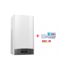 Centrala Ariston CLAS ONE 24+termostat digital wireless programabil Logictherm C7RF