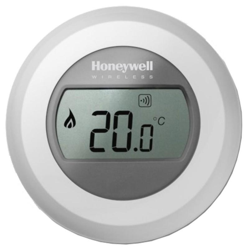 Termostat wireless ROUND Honeywell neprogramabil