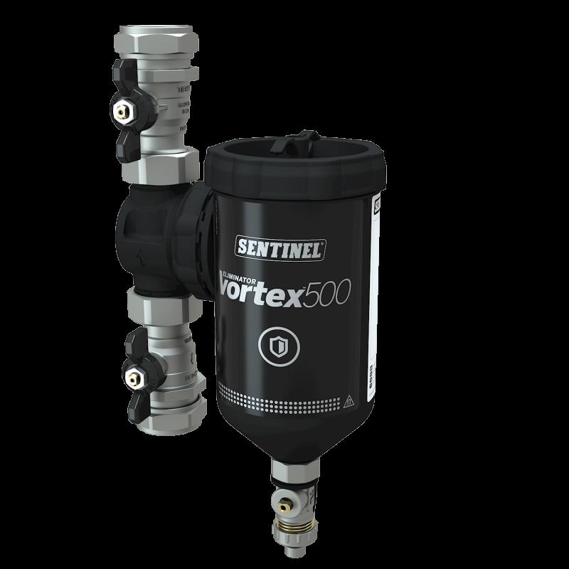 "Filtru eliminator VORTEX , 500 ml, 28 mm sau 1"""