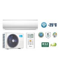 Aparat aer conditionat Midea NEW BLANC MA1 Panel R32, 12000 BTU, Air Magic, kit de instalare si Wi-Fi control inclus