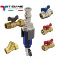 "Kit sub centrala Tiemme cu filtru magnetic TM-MAG 3/4"""