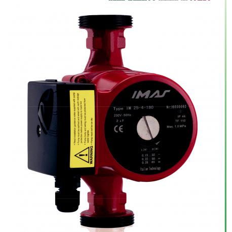 Pompa circulatie IMAS 25-6 180