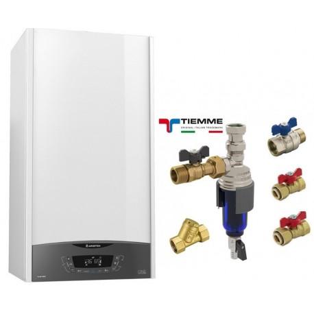 "Centrala  Ariston CLAS ONE 24 + Kit sub centrala TIEMME cu filtru magnetic TM MAG 3/4"""