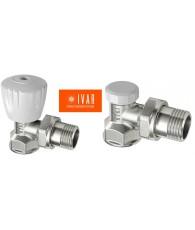 Set robineti IVAR tur VS-102+ retur DS-402 1/2 unghi light