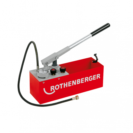 Pompa manuala ROTHENBERGER de testare instalatii RP 50-S