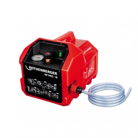 Pompa electrica ROTHENBERGER pentru umplere si testare instalatii RP PRO III