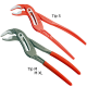 "Cleste ROTHENBERGER tip ""papagal"", cu reglare rapida, ROGRIP M 7"" 2K"