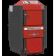 Cazan ATMOS DC22SX 22kW, cu gazeificare, cu exhaustor de fum, pe lemne