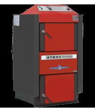 Cazan ATMOS DC22SX 22 kW, cu gazeificare, cu exhaustor de fum, pe lemne