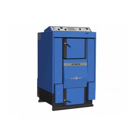 Cazan ATMOS DC100 99 kW, cu gazeificare, cu exhaustor de fum, pe lemne