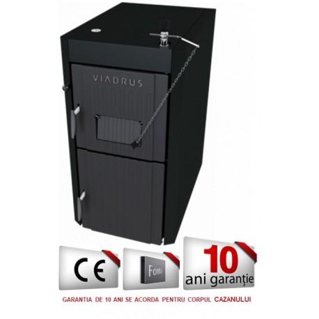 Cazan VIADRUS U22 ECONOMY 25 kW, lemn