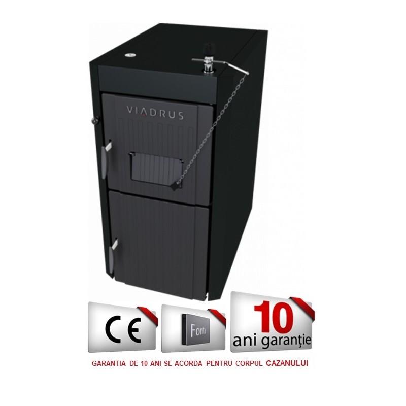 Cazan VIADRUS U22 ECONOMY 30 kW, lemn