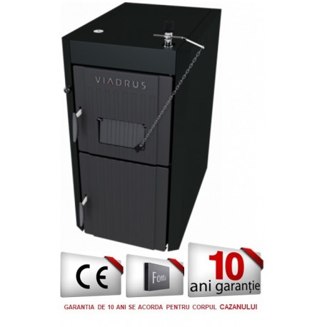 Cazan VIADRUS U22 ECONOMY 34 kW, lemn