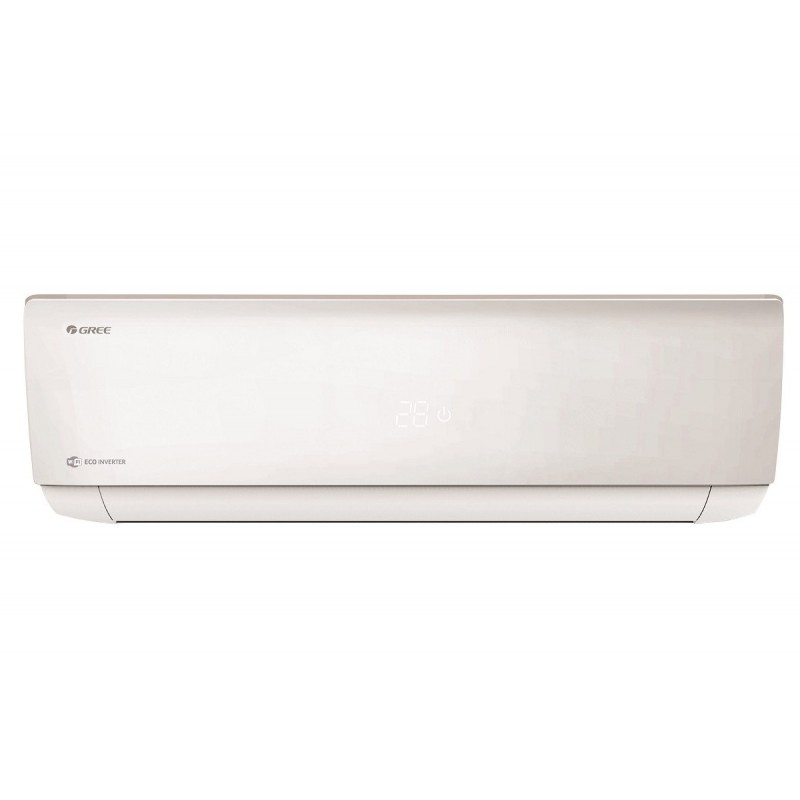 Aparat aer conditionat GREE BORA Eco Inverter A4 Silver 9000 BTU, R32, Wi-Fi Inteligent Control si kit de instalare incluse