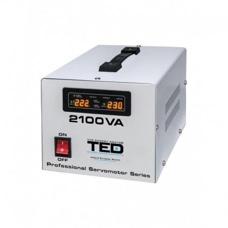 Stabilizator retea maxim 2100VA-SVC cu servomotor TED2100SVC TED Electric